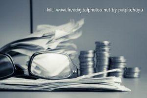 okulary i monety